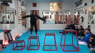 Kung Fu Kids - 4 Box Jump Challenge