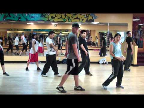 Chris Urteaga Hip Hop Choreography  Calvin Harris Ft NeYo Lets Go