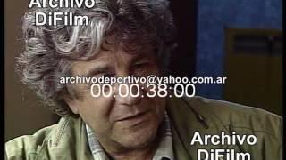 Augusto Fernandez sobre Obra de Teatro Príncipe azul - DiFilm (1997)