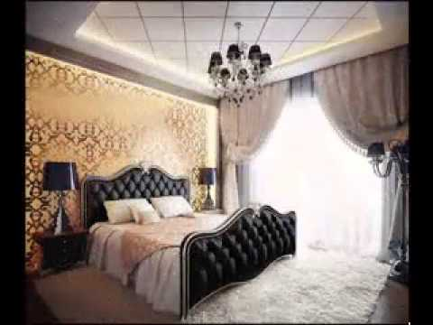 damask bedroom decorating ideas youtube. Black Bedroom Furniture Sets. Home Design Ideas
