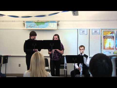 PEHS Clarinet Trio 2012