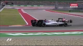 Alonso Epic Drive In USA Grand Prix F1 2016