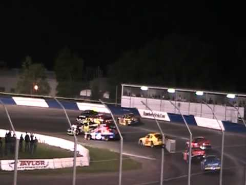 NASCAR K&N Pro Series West Crash @ Stockton 99 Speedway 5/5/12