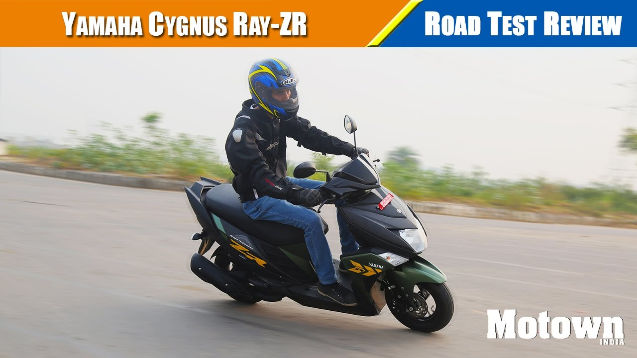 Yamaha Cygnus Ray-ZR | Road Test Review | Motown India - YouTube