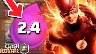 ¡¡ EL NUEVO MAZO MÁS RÁPIDO DEL MUNDO !! SÓLO 2.4 DE ELIXIR   Clash Royale [XHEO] thumbnail