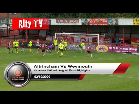 Altrincham Weymouth Goals And Highlights