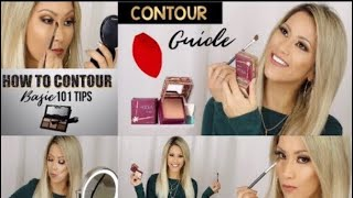 HOW TO CONTOUR | BASIC 101 CONTOUR FOR ANY AGE | HOW TO SLIM YOUR FACE FEATURES