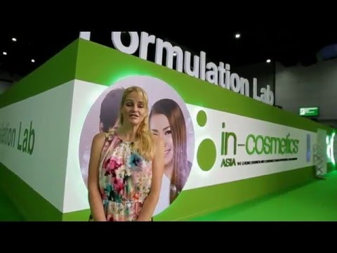 in-cosmetics Asia show video