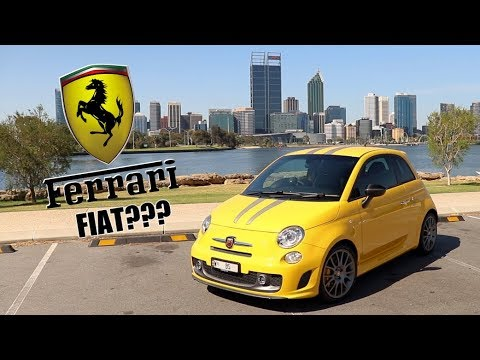 The Abarth 695 Tributo Ferrari is one of the craziest little hatchbacks ever made! (Review*)