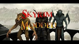 Skyrim Special Edition - Tainted Blood of The Dragon Born Vampire Werewolf Hybrid Mod Review