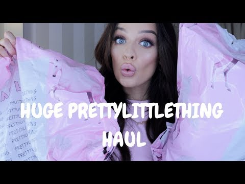 PRETTY LITTLE THING HAUL - PARTY EDITION | Madison Sarah