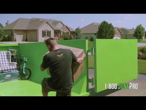 How a Dumpster Rental Works | 1-800-JUNKPRO