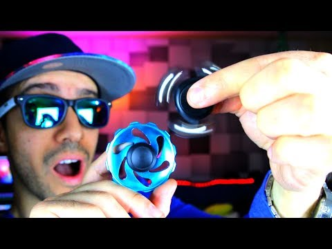Thumbnail: TOP 5 BEST TRICK FIDGET SPINNERS FOR STUNTS! (BEST TRICKS SPINNER REVIEW AND GIVEAWAY!)