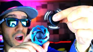 TOP 5 BEST TRICK FIDGET SPINNERS FOR STUNTS! (BEST TRICKS SPINNER REVIEW AND GIVEAWAY!)