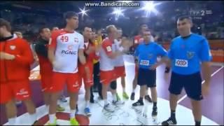Polska vs Katar - OKLASKI DLA SĘDZIÓW od Polaków - MŚ 2015 Piłka Ręczna