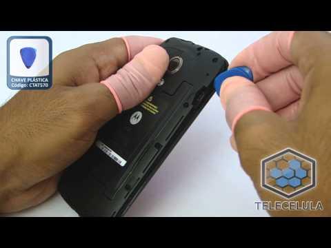 Como desmontar o Motorola Moto G XT1032 - XT1033 - TELECELULA