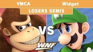 WNF 1.4 - YMCA (Donkey Kong) vs Widget (Luigi) Losers Semis - Smash Ultimate