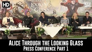 Alice Through the Looking Glass - Press Conference Part 1