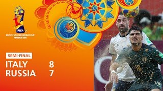 Italy v Russia [Highlights] - FIFA Beach Soccer World Cup Paraguay 2019™