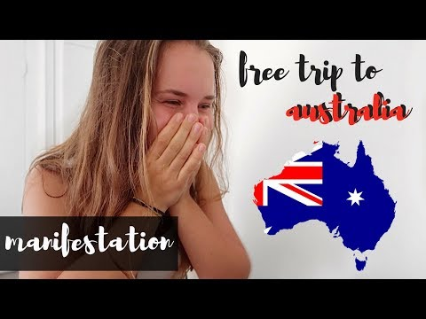 MOST POWERFUL MANIFESTATION LIVE ON CAMERA || We Attracted Free Flights To Australia