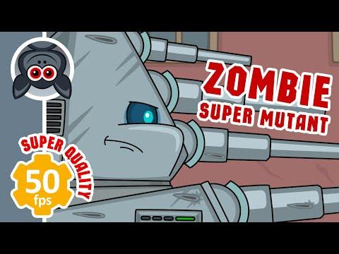 Зомби Супермутант. Ратте против Зомби. Мультики про танки
