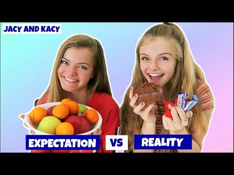 Expectation vs Reality ~ New Year Resolutions ~ Jacy and Kacy
