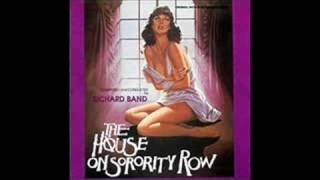 "Richard Band scores ""The House on Sorrority Row"""