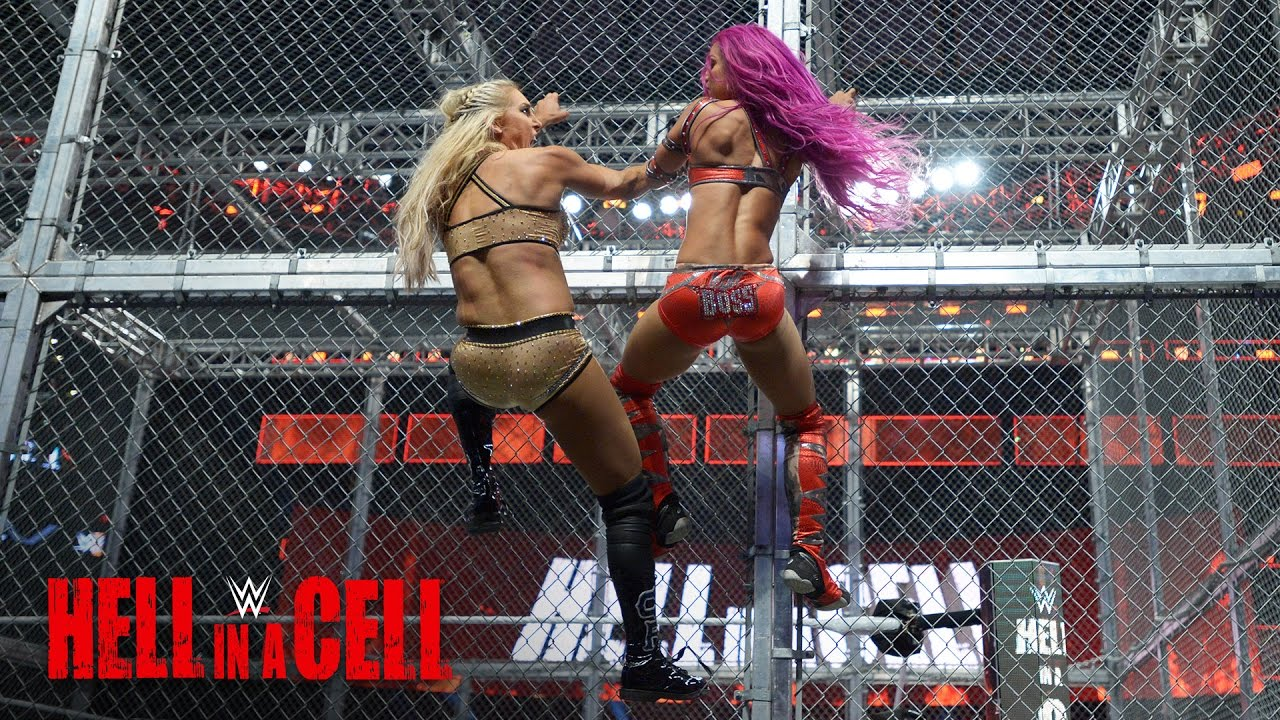 Sasha banks ass hell in a cell