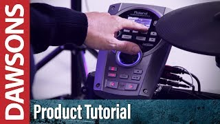 Roland V-Drums - Using the USB function