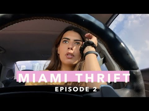 THRIFTING IN MIAMI EP. 2 | Calle Ocho & Coconut Grove