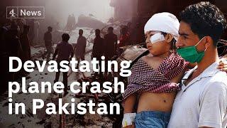 Pakistan Plane Crash: Dozens Dead As Jet Hits Densely-populated Area Of Karachi