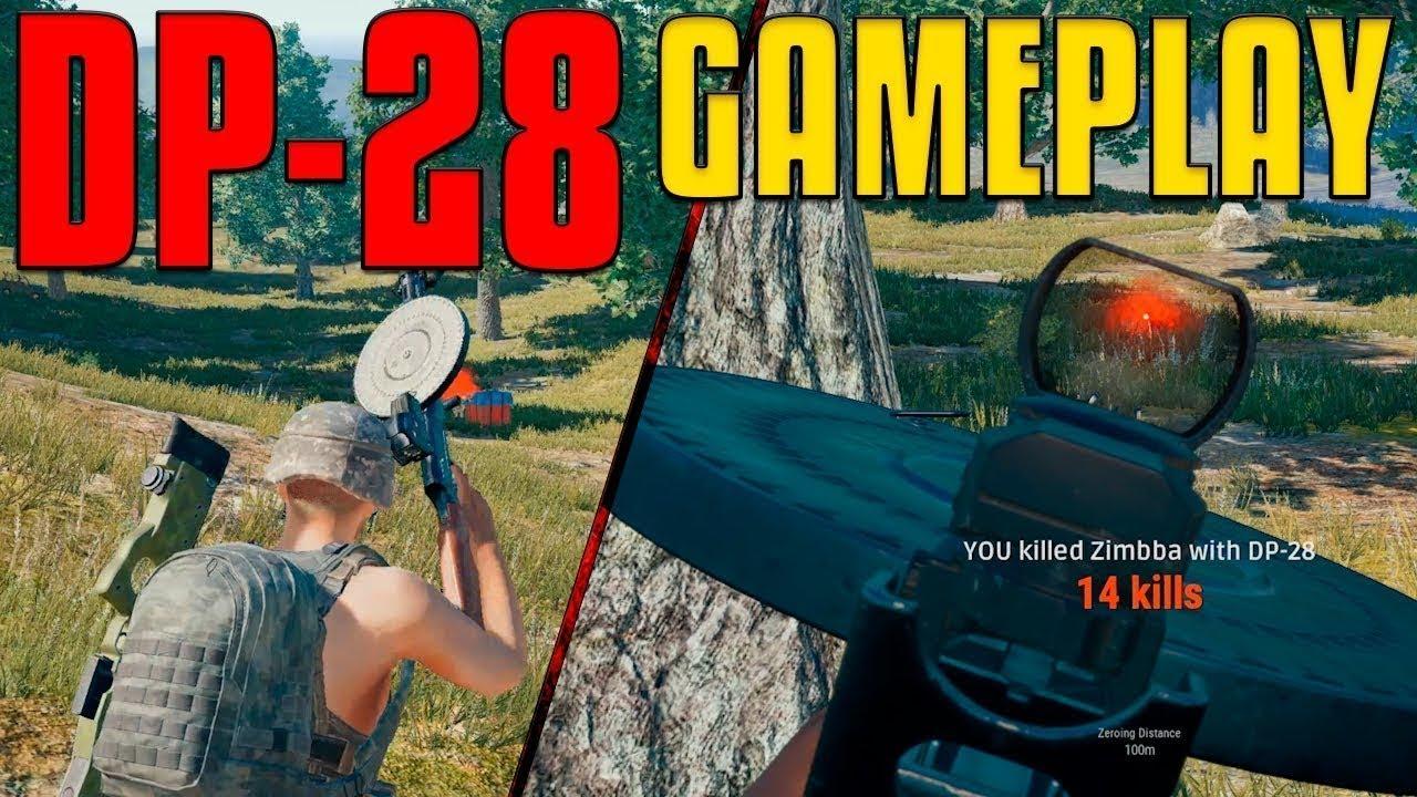 Dp 28 Best Op Machine Gun Pubg Mobile Tips Tricks Youtube