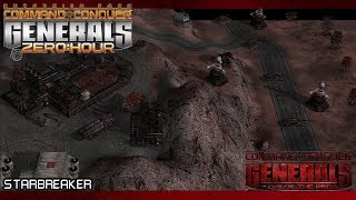 RISE OF THE REDS 1.87 Generals Zero Hour - Aleksandr Final Mission Starbreaker