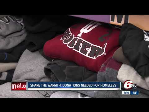 Donations needed for homeless at Horizon House in Indianapolis