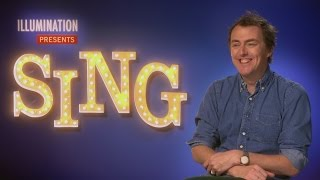 SING: Garth Jennings On Casting Taron Egerton, Battling Pneumonia And His Gunter Impression