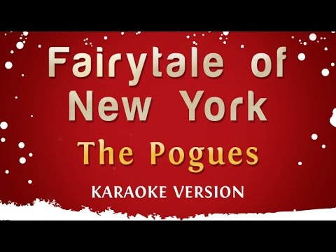 The Pogues & Kirsty McColl  Fairytale Of New York Karaoke Version