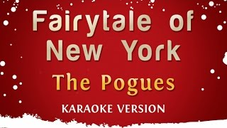 The Pogues & Kirsty McColl - Fairytale Of New York (Karaoke Version)