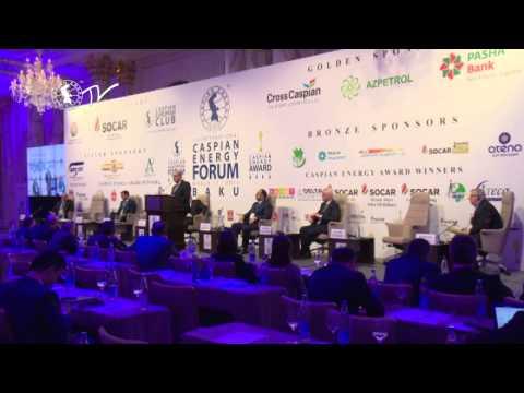 Şahin Bağırov - Caspian Energy Forum - Baku 2015-az