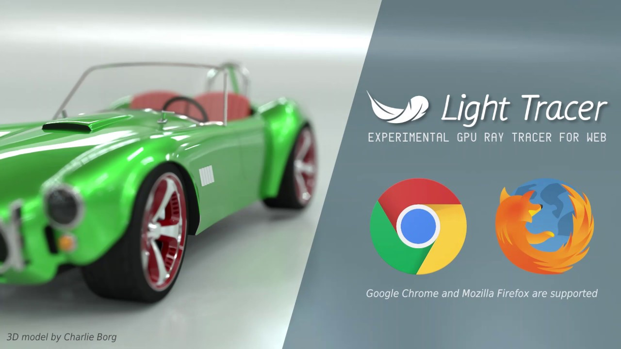 Light Tracer - browser-based GPU rendering - CGPress