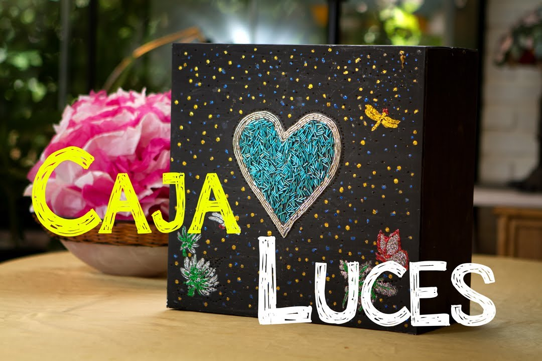 Decoracion Caja De Luz De Corazon Con Secreto Youtube