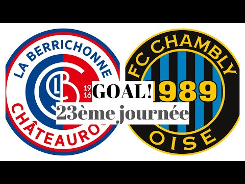 Chateauroux Chambly Goals And Highlights