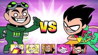 Teen Titans Go! - Jump Jousts - Titan Falls [Cartoon Network Games]