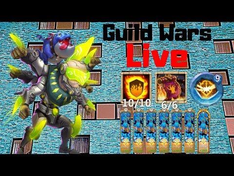 Crazy Asura | Guild Wars | Live Stream | Castle Clash