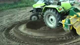 PREET TRACTOR...powerful........must see this video(preet combine and tractor nabha