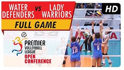 Water Defenders vs. Lady Warriors | WV Full Game | 1st Set | PVL Open Conference | July 30, 2017