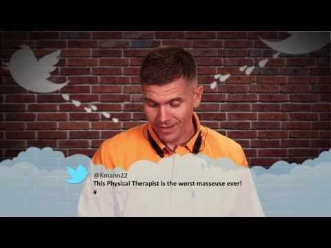 Mean Tweets: Physical Therapy Edition