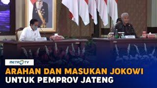 [FULL] Jokowi Beri Arahan Penanganan Covid-19 Untuk Pemprov Jateng