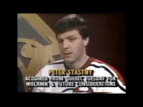 1989 90 NJ Devils some newsclips