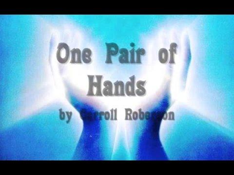 One Pair Of Hands - Karaoke - Always Glorify GOD!!!
