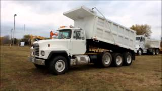 2000 Mack RD688S triple axle dump truck for sale | sold at auction December 6, 2013